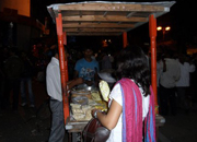 Cracking down on hawkers