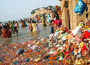 Cleaning Ganga