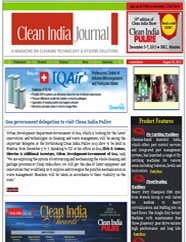 Clean India Journal – Weekly e-newsletter