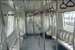Bangalore Metro Coach Interior 1