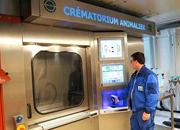 Crematorium for dogs