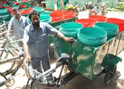 Water/veg bins!