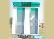 Zero-discharge' toilets