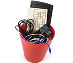 e-waste bins
