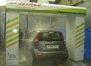 Car washing plant launched