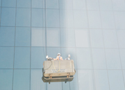 Safety measures for High rise façade cleaning