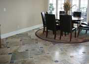 Long-lasting stone floorings