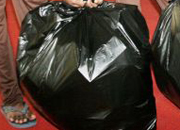 Eco bags for waste disposal at Coimbatore airport