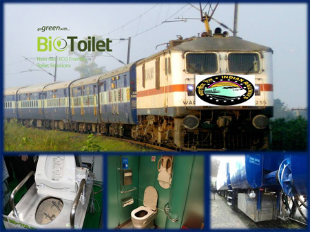 Train with Bio-toilet leaves Mumbai