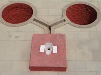 Zero waste toilet system for Trichi