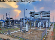 Ion exchange resins for industrial water treatment