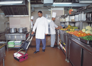 Tools and equipment for effective cleaning of fast food joints