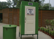 single unit drdo bio-toilet