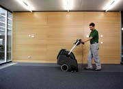 Deep cleaning of fitted carpets