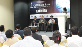 Clean India Show 2012-Exclusive Laundry Pavilion