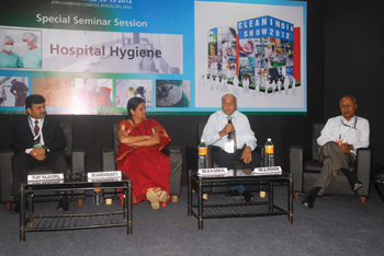 Clean India Show 2012-Seminar:Discussion on advanced cleaning technologies