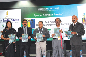 Waste India Recycling Magazine Launch