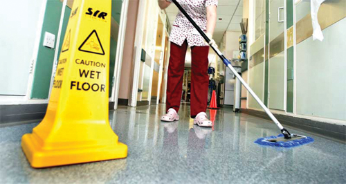 Cleaning Hospital Rooms