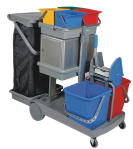 Convenient Cleaning With Trolleys Clean India Journal