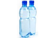 Clean bottled water