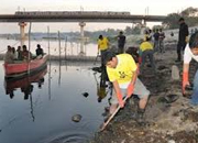 yamuna river cleaning project