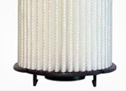 Bio-degradable polymer to filter industrial effluents
