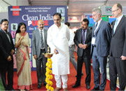 Hon' Minister, Jayant Patil inaugurates Clean India Pulire 2013