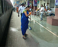 IR to focus cleanliness