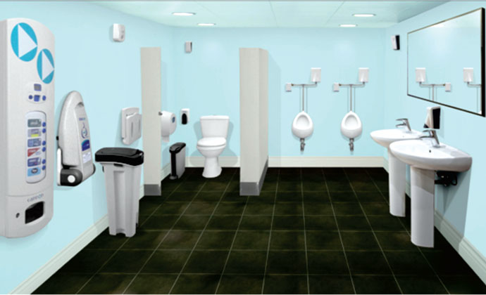 Cannon Hygiene : Curbing Washroom Contamination