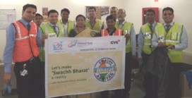 Cleanliness Week at Mumbai Airport