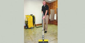 Mopping Contaminates  Floors: Study