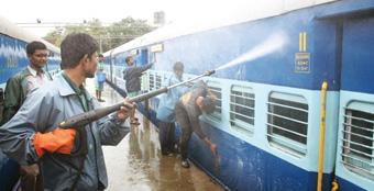 SCR Intensifies Cleanliness Drive on Railway Premises