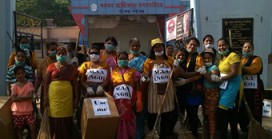 MAA organises sanitation program at Vasai