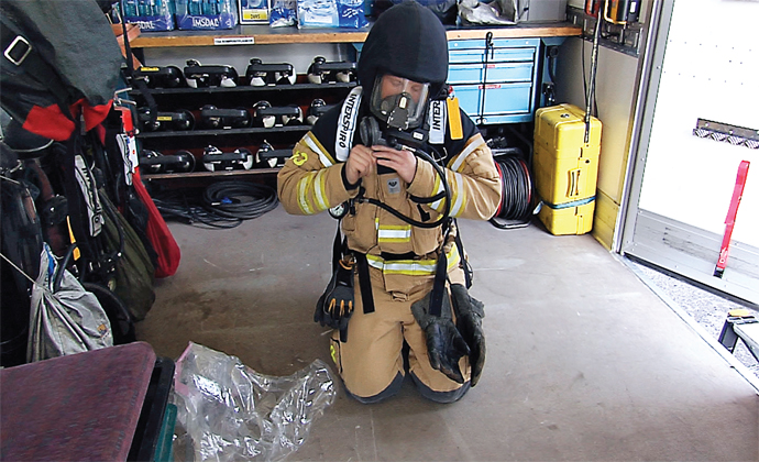Reducing Health Risks for Firefighters