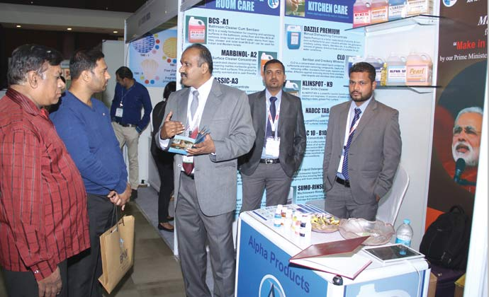"""Clean India Show 2015, Indore """"Setting Cleaning & Hygiene Standards in Central India"""""""