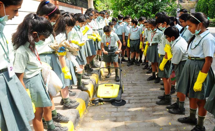 Karcher India's contribution to Swachh Bharat