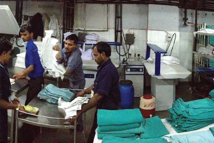 Curbing contamination at Maharaja Agrasen hospital