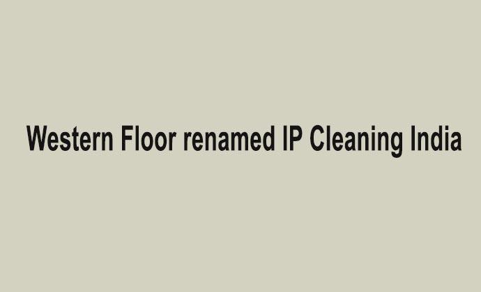 Western Floor renamed IP Cleaning India