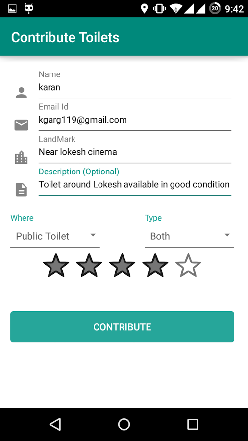 Toilet Finder - Clean India Journal