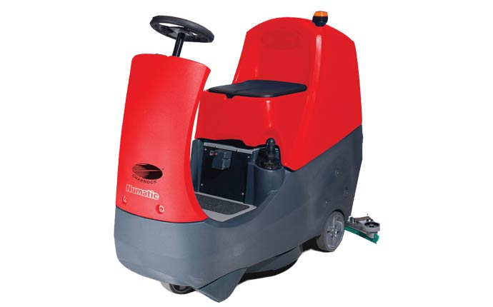 Compact Ride-on Scrubber Drier-CRO 8055