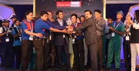 Kannelite Team bags Clean India Challenge 2016 Trophy