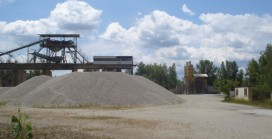 Abandoned quarries for C&D waste recycling