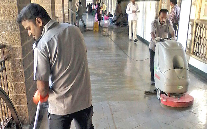 Pumping Mechanised Cleaning in Public Areas