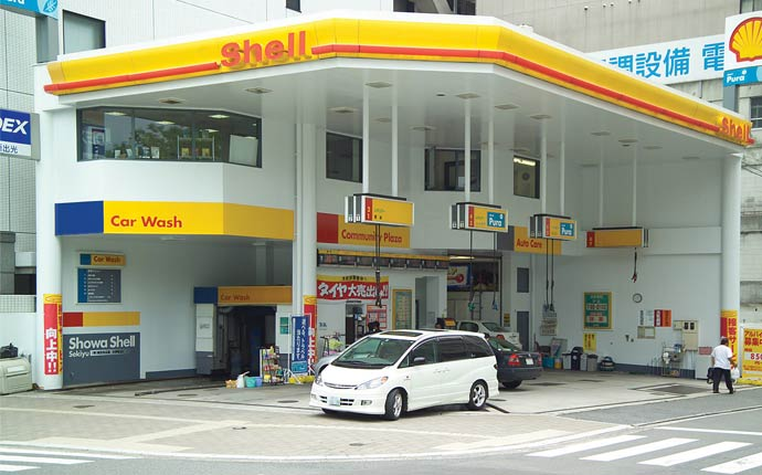Car wash facilities at fuel stations