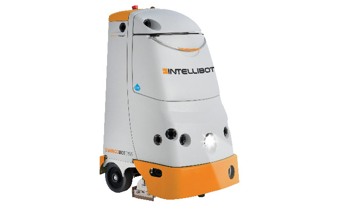 Smart cleaning with intelligent robots