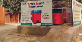 Green Waste Re-processor for Organic Waste