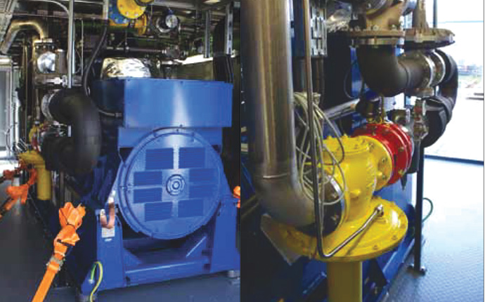 NEW GAS BLENDING TECHNOLOGY FOR CHPS