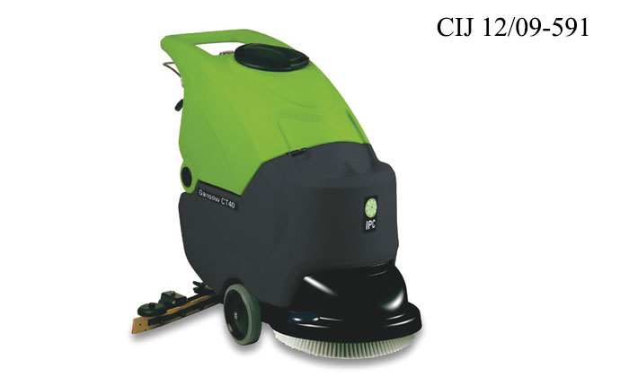 Walk behind scrubber driers Model: CT 40