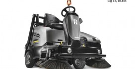 New Ride-On Sweeper