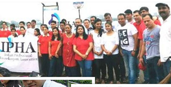 I-PHA engages in cleaning drive